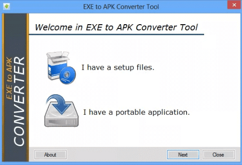How to convert exe to apk? Is it actually possible? – Aitokaiku
