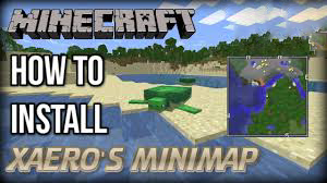 Installation of Xaero's Minimap in Minecraft
